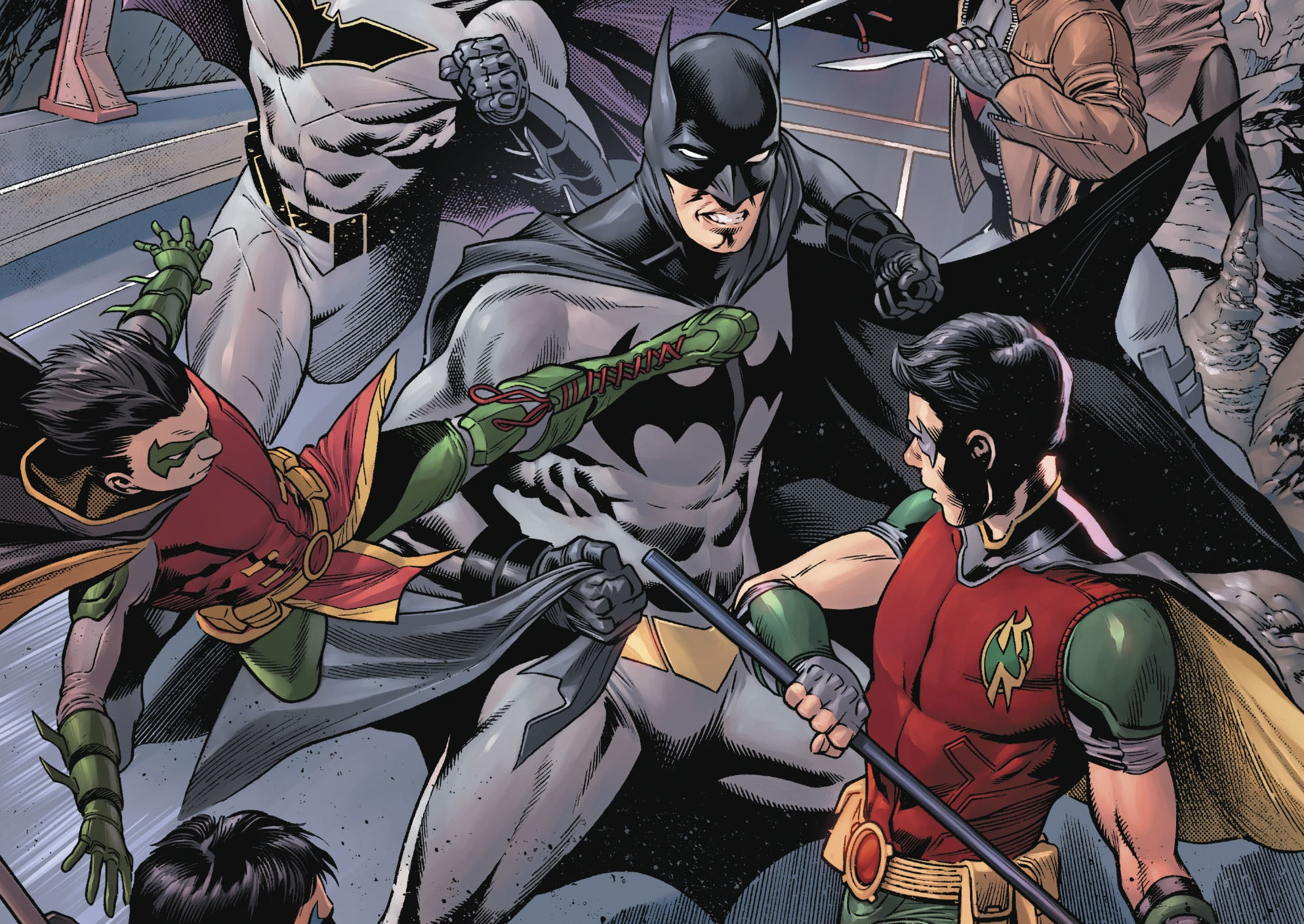 Review VF - Batman Detective Comics Tome 5 2