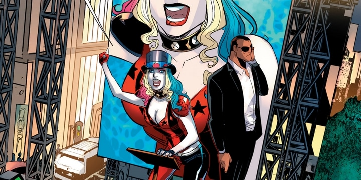 Review VF - Harley Quinn Rebirth Tome 5 : Votez Harley 1