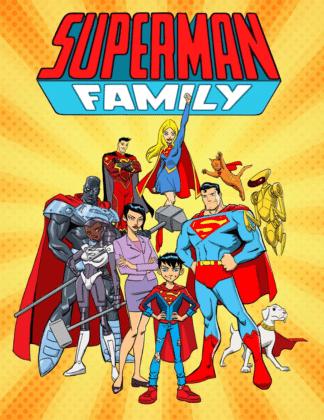 Vinton Heuck partage son projet refusé d'une série animée Superman Family 2