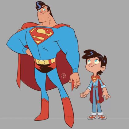 Vinton Heuck partage son projet refusé d'une série animée Superman Family 3