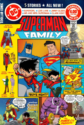 Vinton Heuck partage son projet refusé d'une série animée Superman Family 6