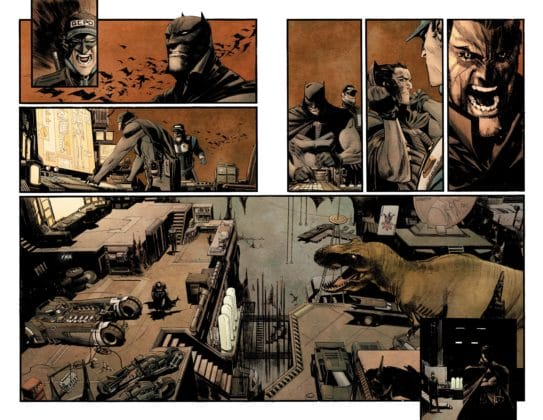 Preview Batman: Curse of the White Knight