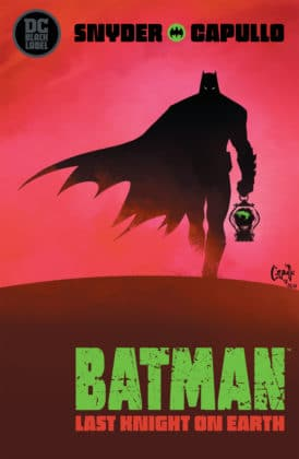 Premier aperçu pour Batman: Last Knight on Earth #1