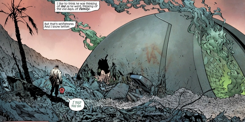Review VO - Batman : Last Knight On Earth #1 2