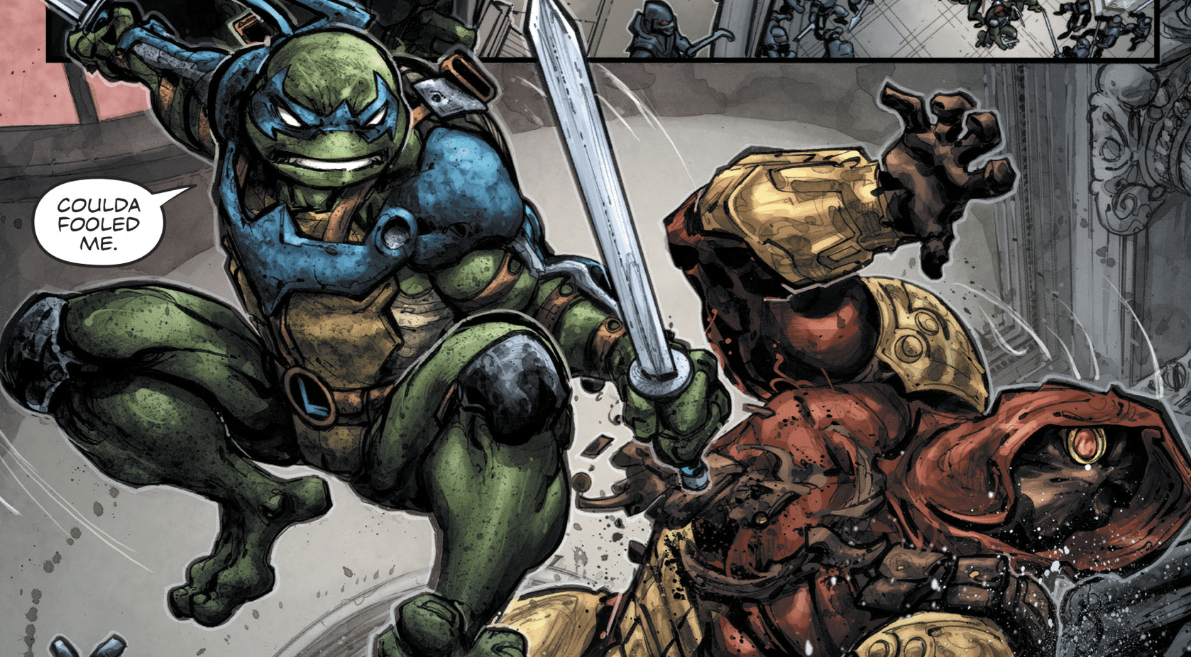 Critique VO : Batman/Teenage Mutant Ninja Turtles III #1