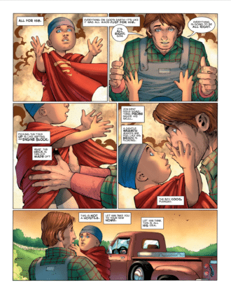Preview VO - Superman : Year One #1 4
