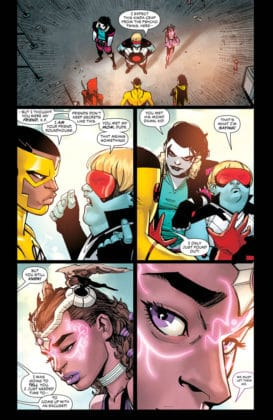 Preview VO - Teen Titans #30 3