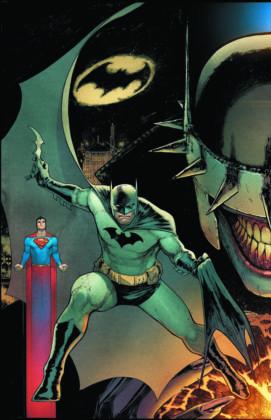 Batman/Superman cover
