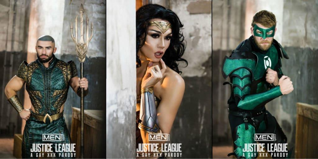 Off My Mind #85 : Justice League : A Gay XXX Parody 4