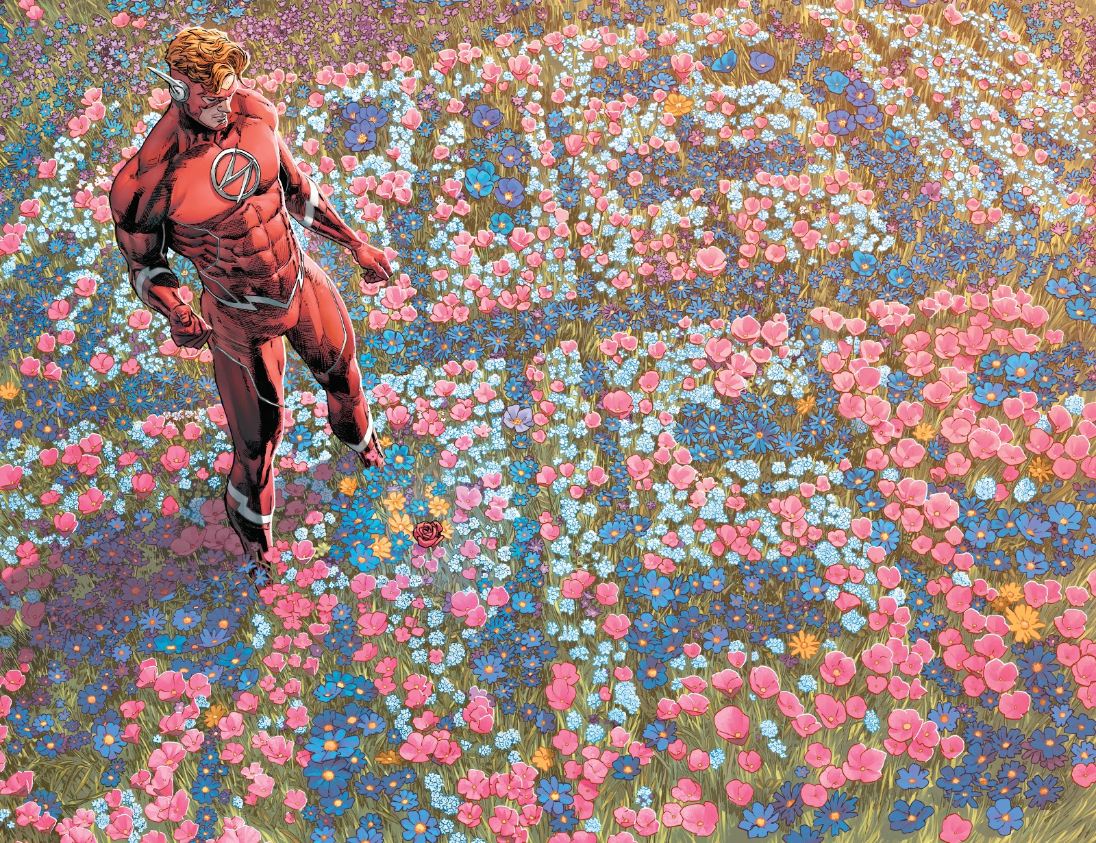 Heroes in crisis -Wally flowers