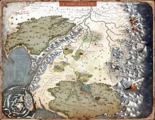 The Last God map