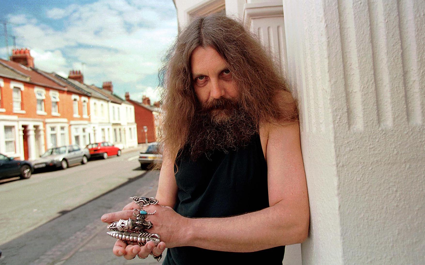 Alan Moore young