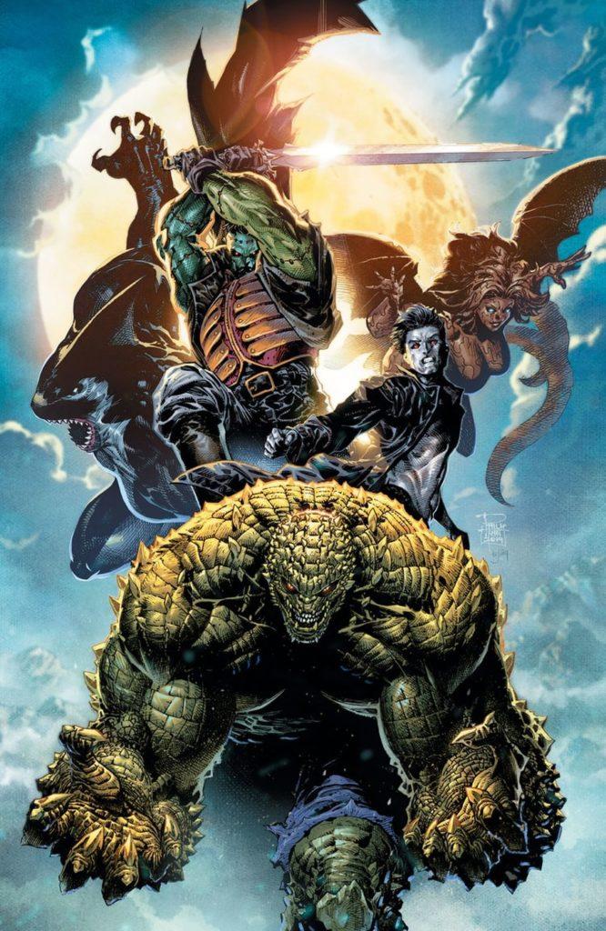 Steve Orlando lance un titre Gotham City Monsters 1