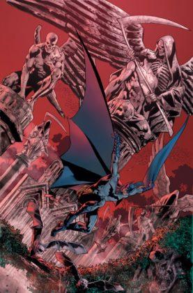 Batman's Grave Cover Bryan Hitch