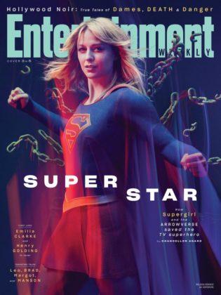 super-héros cw nouveau costume