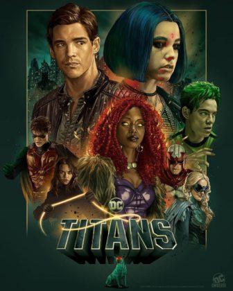 Titans saison 2 poster