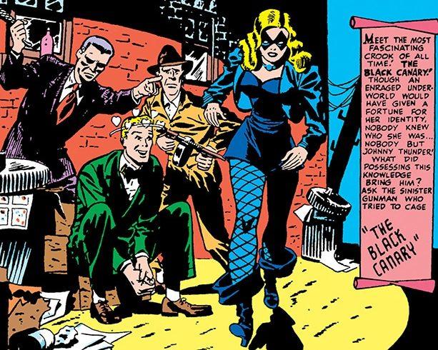 Black Canary origines
