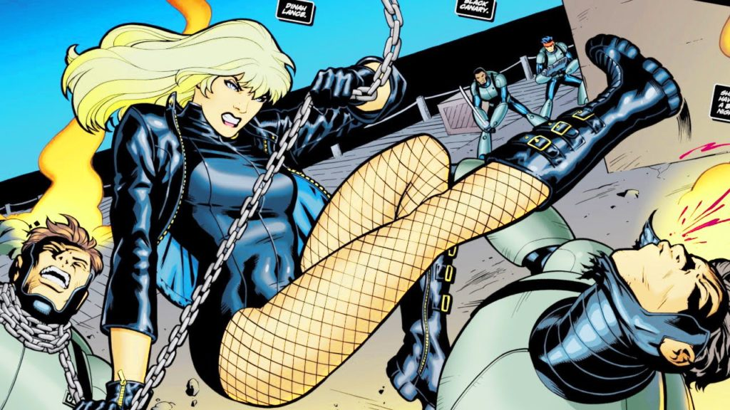 Black Canary origines