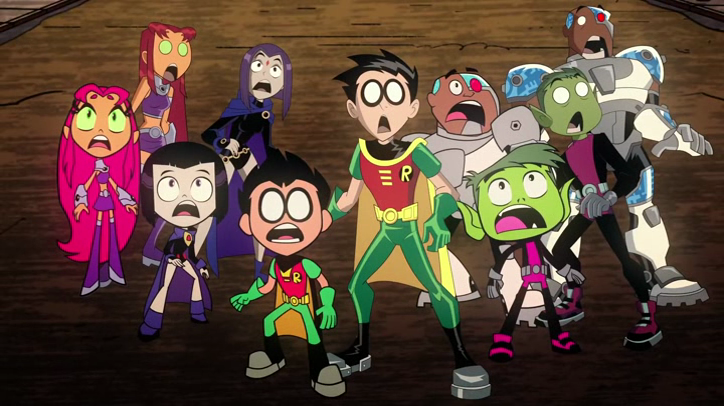 Review TV - Teen Titans Go! Vs Teen Titans 2