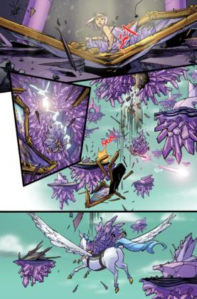 DC annonce un titre Amethyst et évoque le futur de Wonder Comics 3
