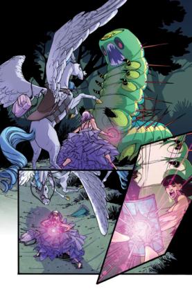 DC annonce un titre Amethyst et évoque le futur de Wonder Comics 5