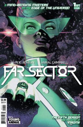 Découvrez la nouvelle Green Lantern dans ce premier aperçu de Far Sector #1 1