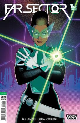 Découvrez la nouvelle Green Lantern dans ce premier aperçu de Far Sector #1 2