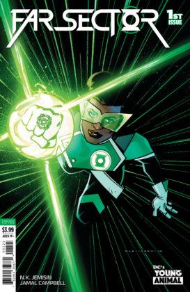 Découvrez la nouvelle Green Lantern dans ce premier aperçu de Far Sector #1 3