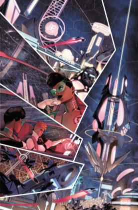 Découvrez la nouvelle Green Lantern dans ce premier aperçu de Far Sector #1 4