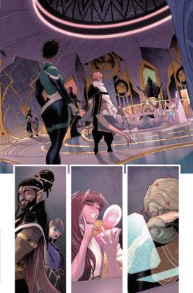 Découvrez la nouvelle Green Lantern dans ce premier aperçu de Far Sector #1 5