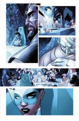 Découvrez la nouvelle Green Lantern dans ce premier aperçu de Far Sector #1 9