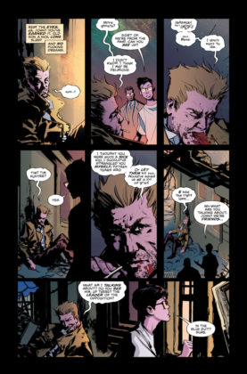 Preview VO - Sandman Universe Presents Hellblazer #1 9