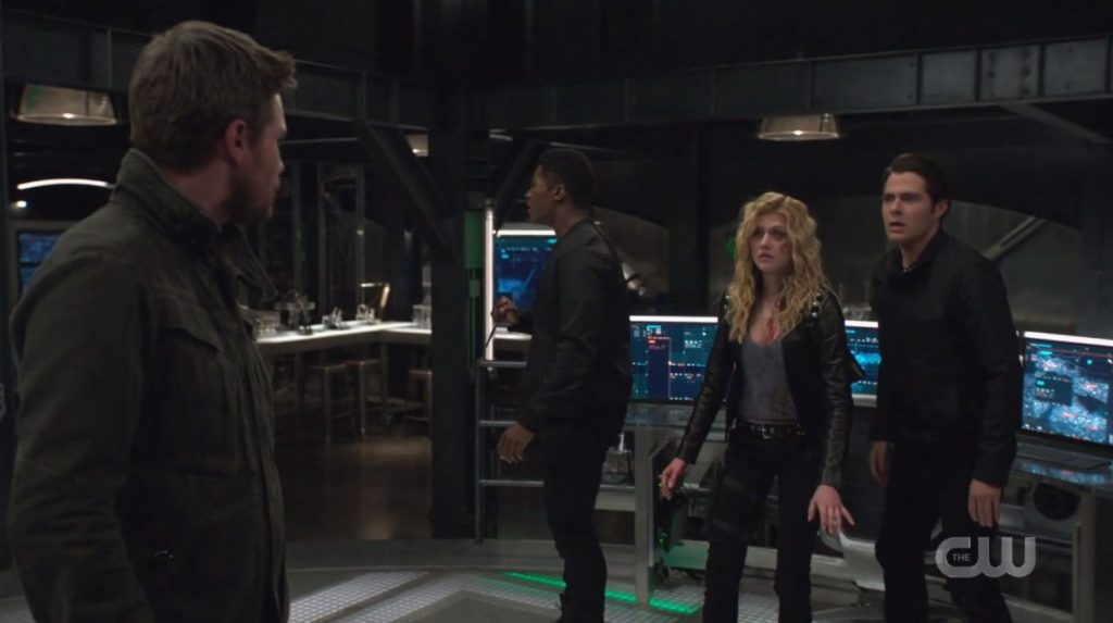 Review TV - Arrow Saison 8 Episode 3 : Leap of Faith 4