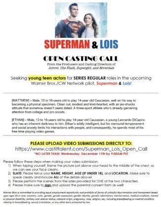 La série Superman & Lois pourrait présenter un Jon Kent adolescent 1