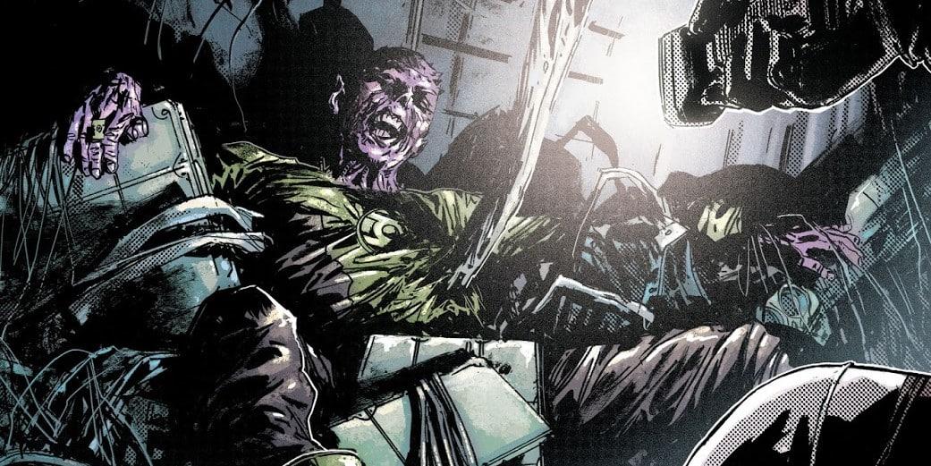 abin sur green lantern mort dans son épave