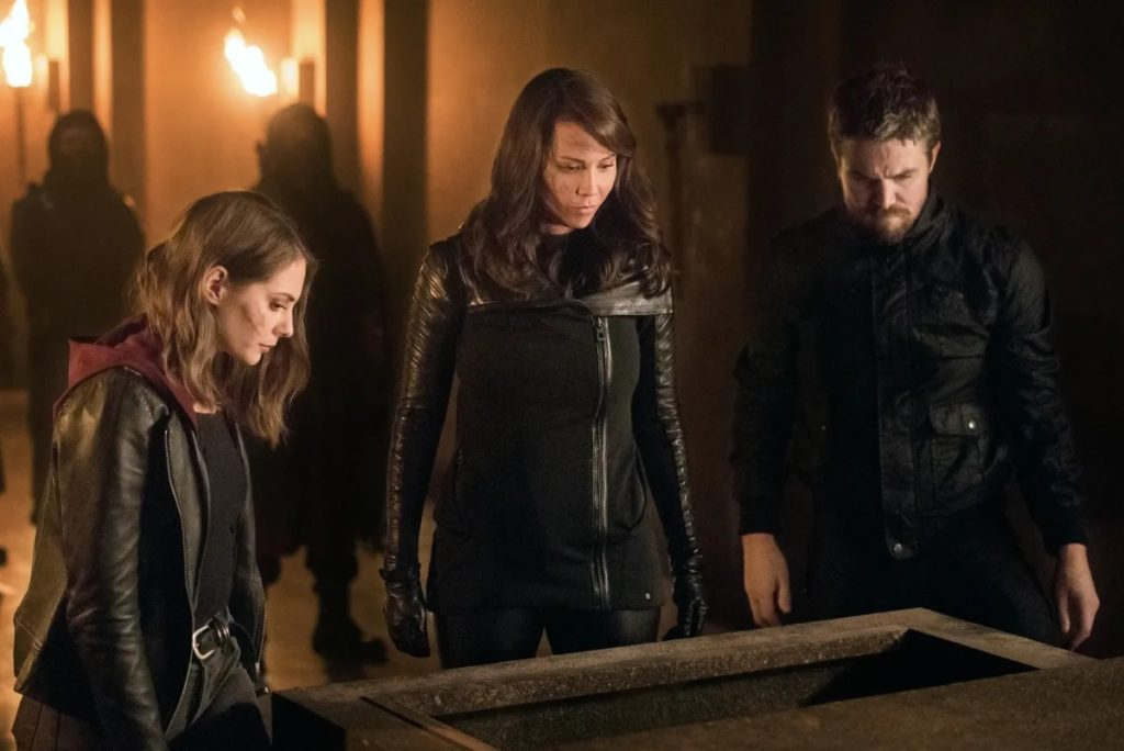 Review TV - Arrow Saison 8 Episode 3 : Leap of Faith 1
