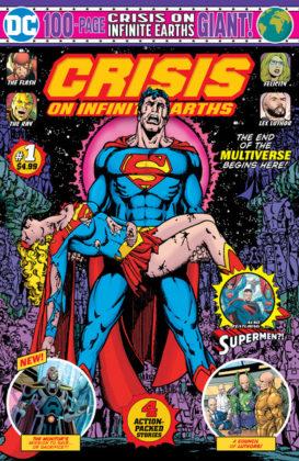 Couverture du comics Crisis on Infinite Earths
