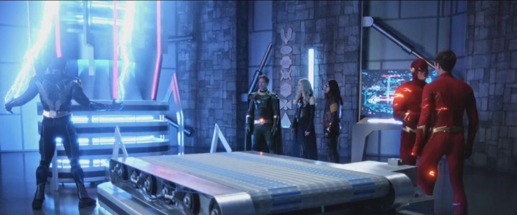 Les Flash sont réunis dans Crisis on Infinite Earths