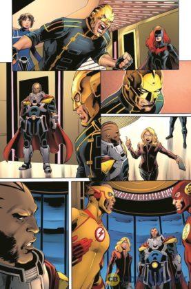 Découvrez un premier aperçu du comics Crisis on Infinite Earths 4