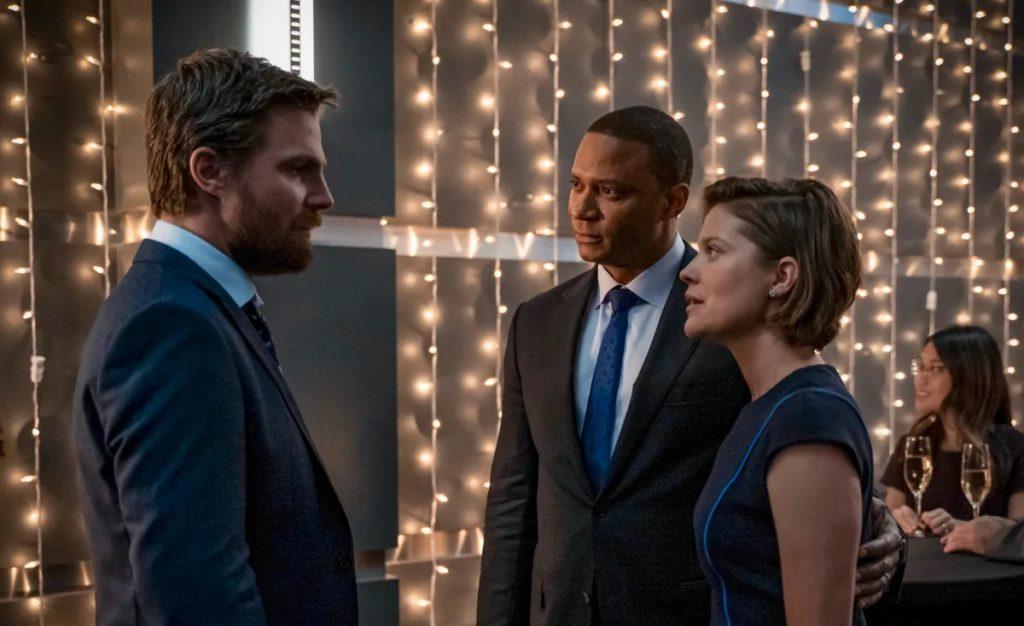 Review TV - Arrow Saison 8 Episode 6 : Reset 1