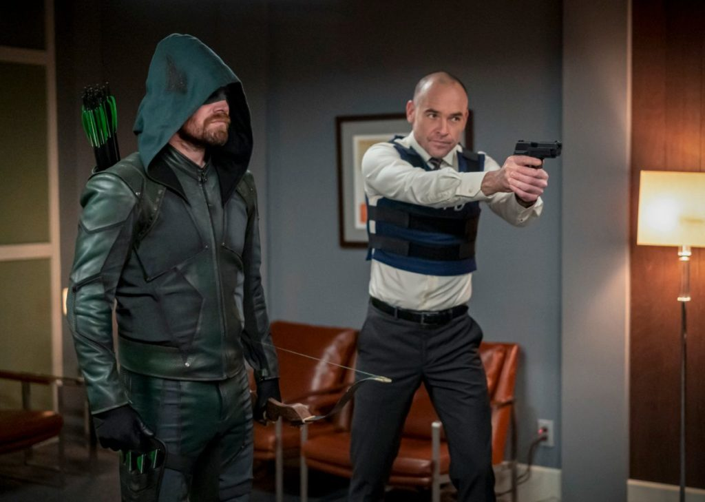 Review TV - Arrow Saison 8 Episode 6 : Reset 3