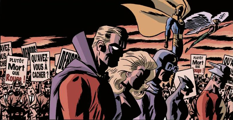 DC The New Frontier page