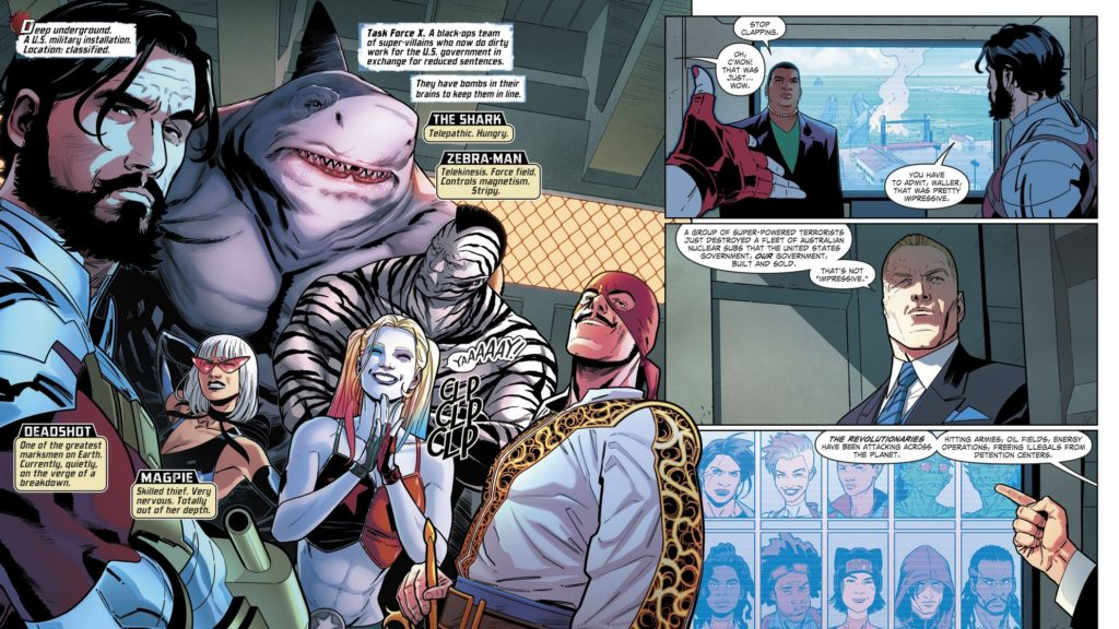 Review VO - Suicide Squad #1 1