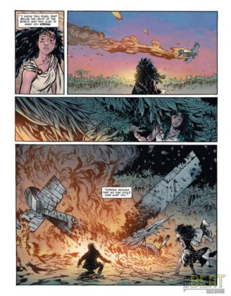 Preview VO - Wonder Woman : Dead Earth #1 4