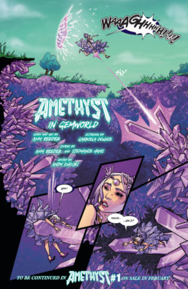 Preview VO - Amethyst #1 par Amy Reeder 10