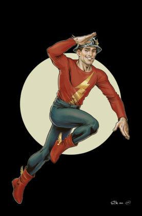 Flash parcourt les décennies dans les variant covers de son #750 1