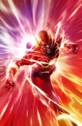 Flash parcourt les décennies dans les variant covers de son #750 6