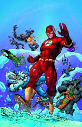 Flash parcourt les décennies dans les variant covers de son #750 7