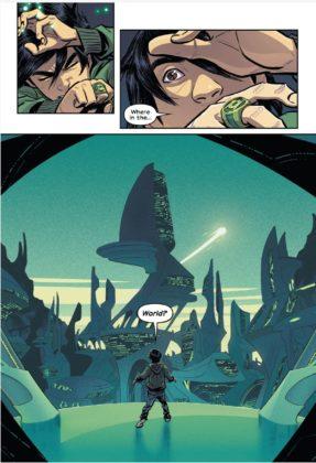 DC sort un trailer pour le comics Green Lantern : Legacy 8