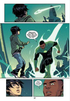 DC sort un trailer pour le comics Green Lantern : Legacy 9